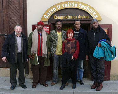 DSWQ at Thelonious music store in Vilnius