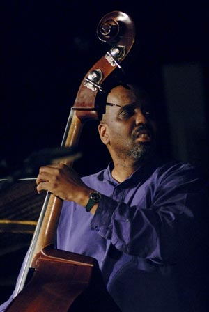 William Parker on the bass